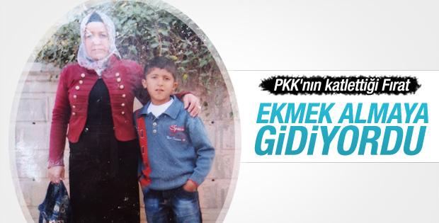 Diyarbakır'da öldürülen çocuk ekmek almaya gidiyordu