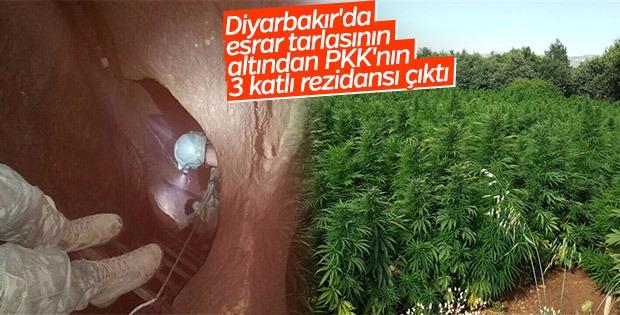 Diyarbakır'da 3 katlı sığınak ele geçirildi