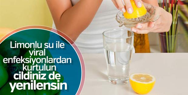 Limonlu su içmek için sebepleriniz var