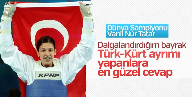 Nur Tatar Askari: Madalyam Türkiye'ye armağan olsun