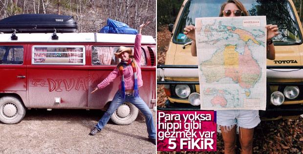 Bir hippi gezi rehberi : Organik seyahat için 5 fikir