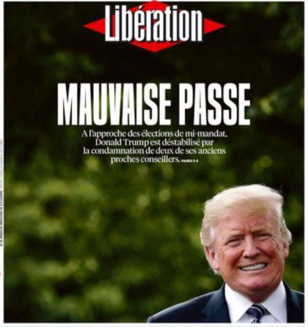 Dünya medyası Trump'ın düşüşünü bekliyor