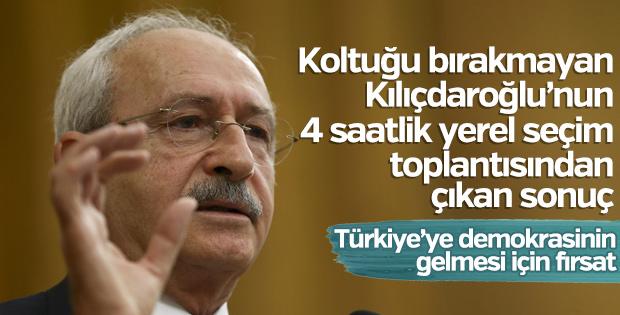 Kılıçdaroğlu, yerel seçim için il başkanlarıyla toplandı