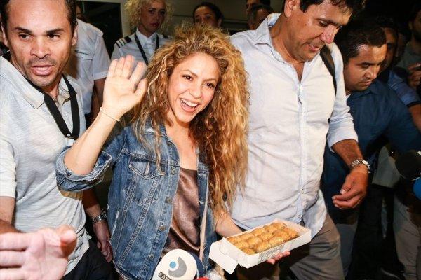 Ä°stanbul'da Shakira resitali