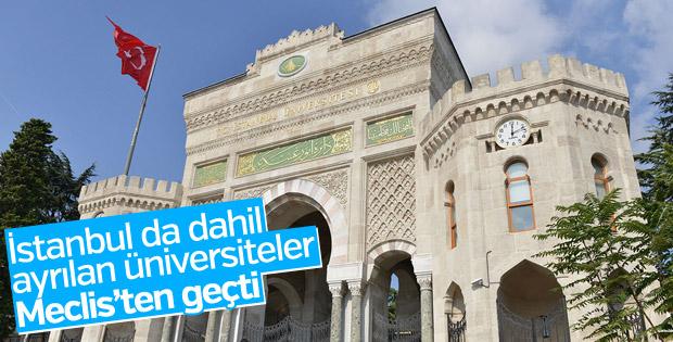 'İstanbul Üniversitesi Cerrahpaşa'nın adı TBMM'den geçti