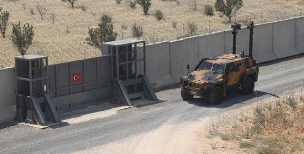 Suriye sınırına 850 kilometre duvar örüldü