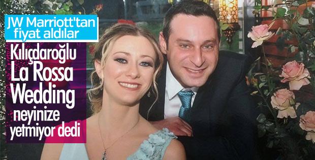 Kılıçdaroğlu, oğlunun seçtiği düğün mekanını veto etti