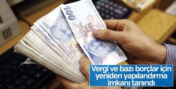 Vergi borçları için yeni kanun tasarısı