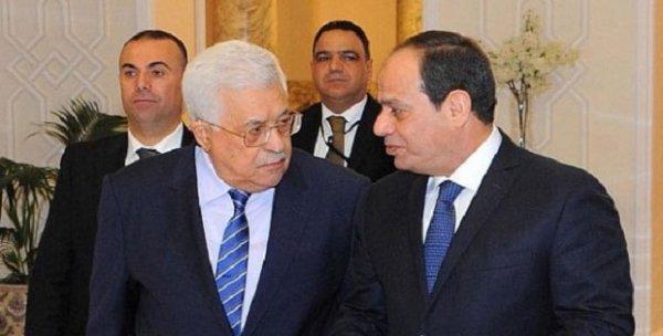 Sisi ve Abbas Mısır´da bir araya geldi