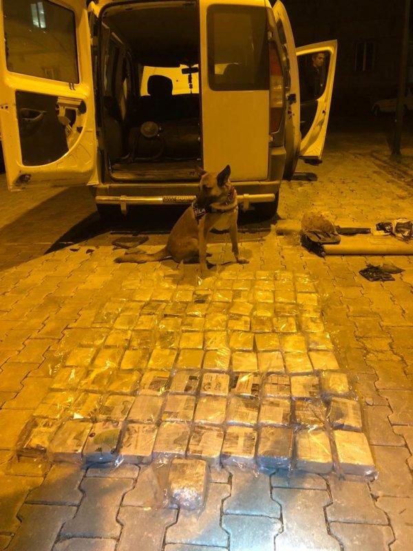 Van'da 52 kilo eroin yakalandı