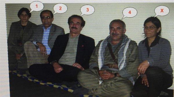 Teröristlerle fotoğrafı olan HDP Batman İl Başkanı tutuklandı