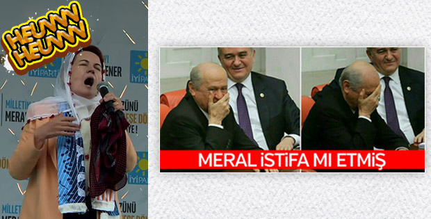 Meral Akşener istifa etti