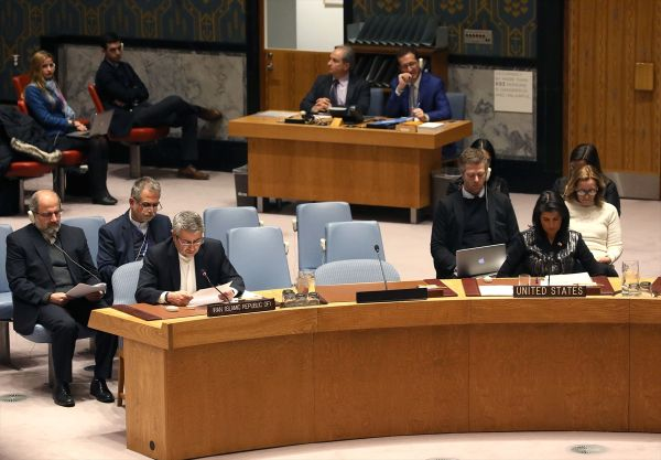 BMGK'da ABD'nin İran'a müdahale çığırtkanlığı tutmadı