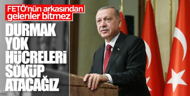 Başkan Erdoğan şehit yakınları ve gazilere seslendi
