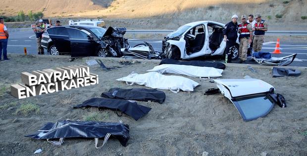 Erzincan'da kaza: 3'ü çocuk 7 ölü