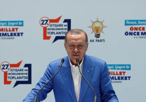 Başkan Erdoğan af konusunda kırmızı çizgisini açıkladı