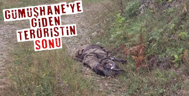 Gümüşhane'de 2 terörist öldürüldü