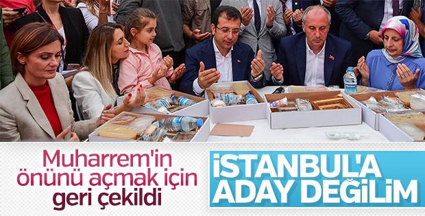 Canan Kaftancıoğlu: Belediye için aday olmayacağım