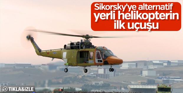 T625 Genel Maksat Helikopteri ilk uçuşunu gerçekleştirdi