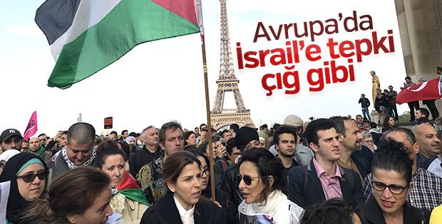 Avrupa'da ABD ve İsrail'e tepkiler büyüyor