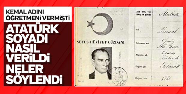 'Atatürk' soyadı nereden geliyor