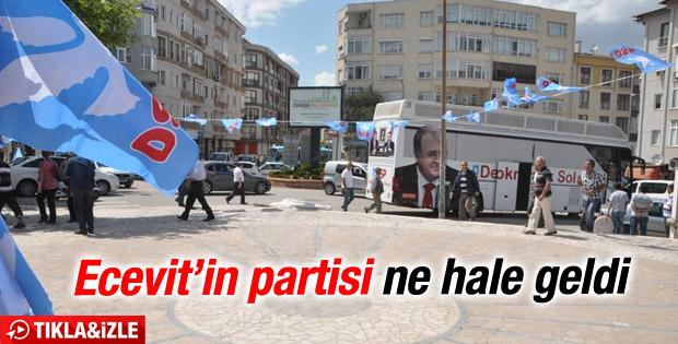 DSP'nin Edirne mitinginde Türker'e hayal kırıklığı İZLE