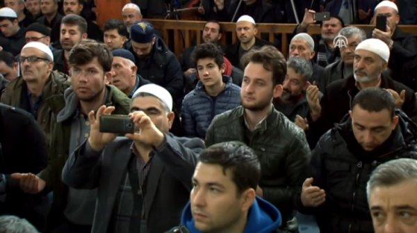 Camilerde Zeytin Dalı Harekatı için dua
