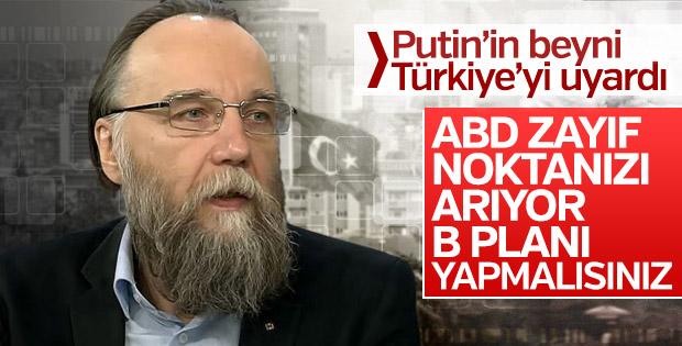Rus filozof Aleksandr Dugin: Türkiye'nin B planı olmalı