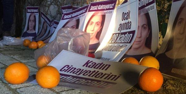Öldürülen Leyla Karal için olay yerine portakal bırakıldı