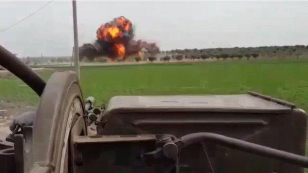 ÖSO teröristlerin mühimmat deposunu vurdu