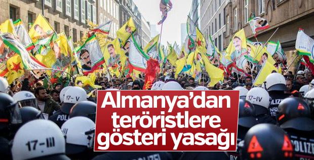Almanya'da PKK yandaşlarına gösteri yasağı
