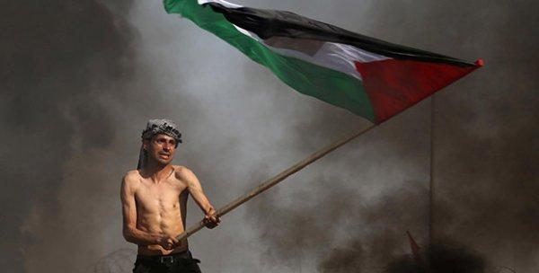 İsrail ordusu göstericilere saldırdı: 97 yaralı
