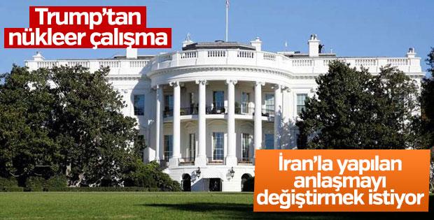 Beyaz Saray: Trump İran ile yapılan anlaşmayı düzeltmeye çalışıyor
