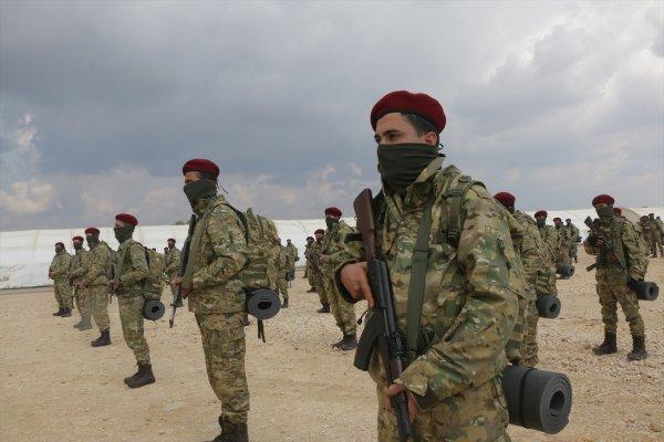 Kürt Şahinler Afrin için yola çıktı