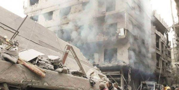 Esad BMGK kararının ardından kimyasal silah kullandı