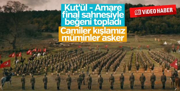 Mehmetçik Kut'ül - Amare final sahnesiyle büyüledi