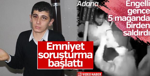 Adana'da 5 kişi engelli genci darbetti