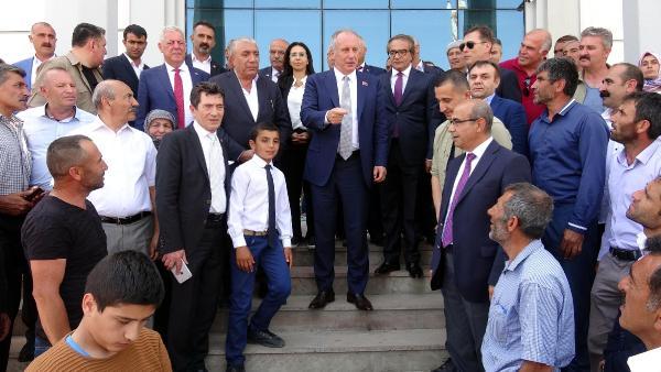 Muharrem İnce Türkiye turuna Erzurum'dan başladı