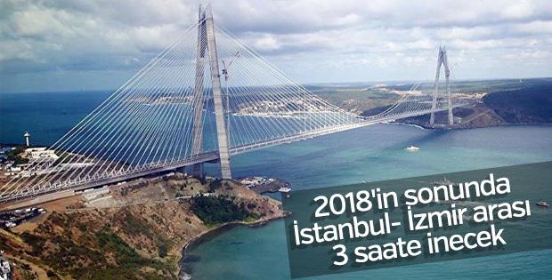 Bursa-İzmir Kemalpaşa hattı 2018'de açılacak