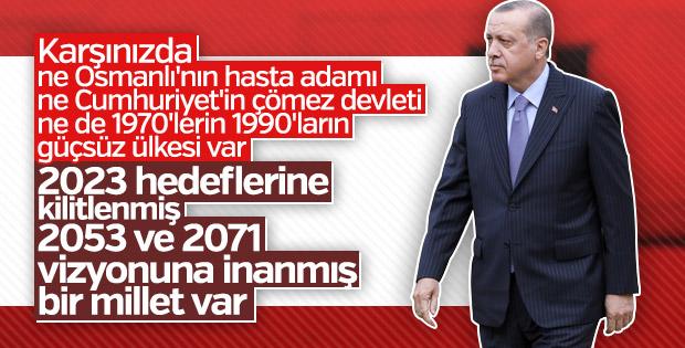 Cumhurbaşkanı Erdoğan, Muhtarlar Toplantısı'nda