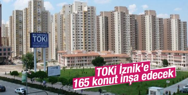 TOKİ İznik'e 165 konut inşa edecek