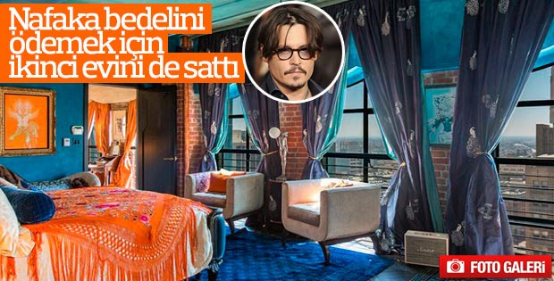 Johnny Depp Los Angeles'taki evini sattı
