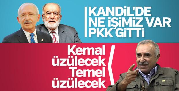 Terör örgütü PKK, Kandil'deki varlığını sürdürüyor