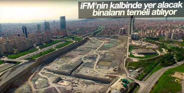 İFM'nin kalbinde yer alacak binaların temeli atılıyor