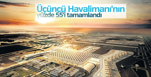 Üçüncü Havalimanı'nın ikinci pisti yıl sonunda bitirilecek