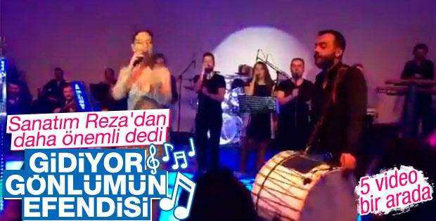 Ebru Gündeş Antalya'da konser verdi