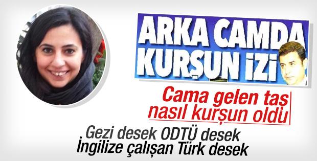 ODTÜ'lü Reuters muhabirinin Demirtaş'a suikast yalanı