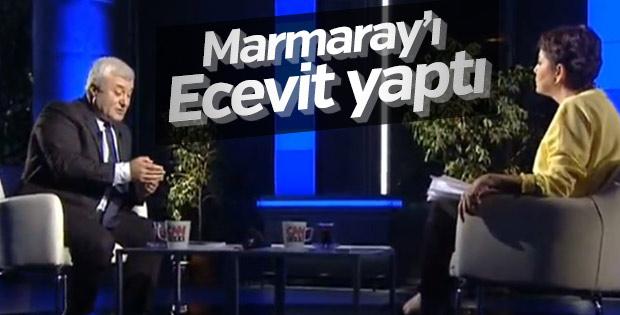 Tuncay Özkan'dan Marmaray için Bülent Ecevit çıkışı