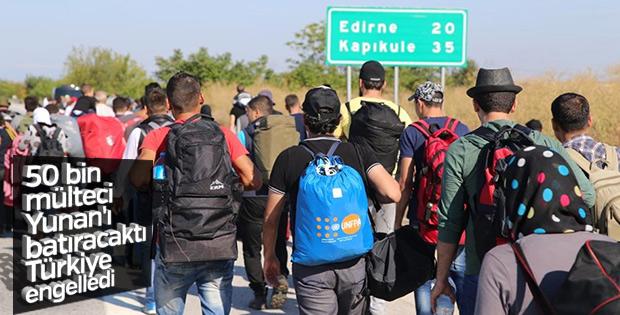 2017 yılında Edirne'de 50 bin kaçak yakalandı