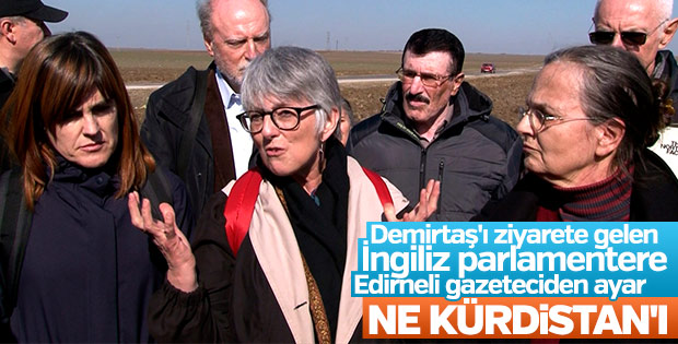 AP vekiline gazeteciden Kürdistan tepkisi